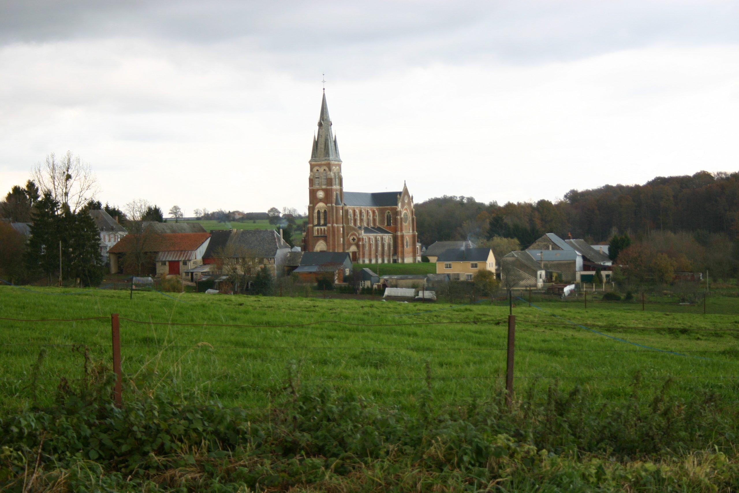 Paysage des Ardennes